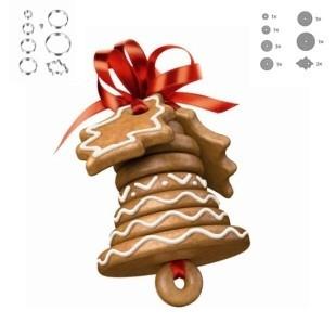 Набор для выпечки пряников Рождественский колокольчик