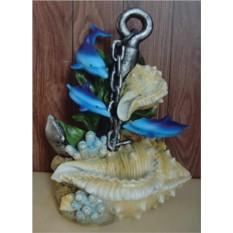 Фонтан Дельфины и кораллы