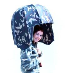 Зонт-трость Я в каске