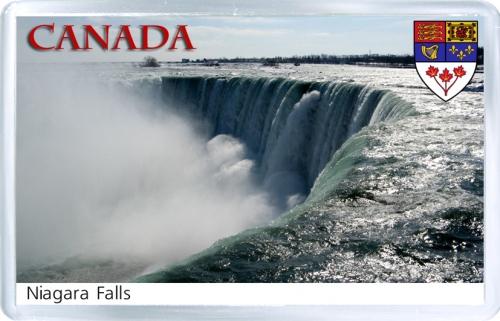 Магнит на холодильник: Канада. Ниагарский водопад