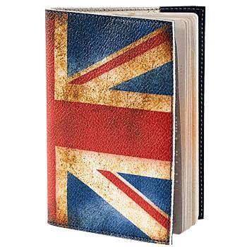 Обложка для паспорта, английский флаг