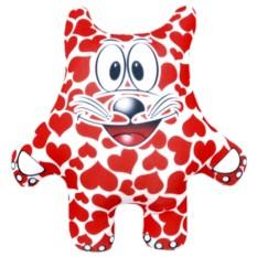 Подушка-игрушка Котик весь в любви