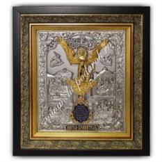 Икона Ангел Хранитель (размер: 38х42х6,5 см)