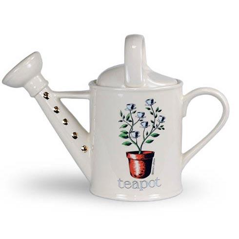 Фарфоровый заварочный чайник «Лейка»