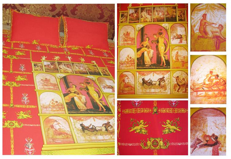 Комплект постельного белья «Эротика древнего Рима»