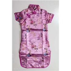 Детское платье ципао, фиолетовое