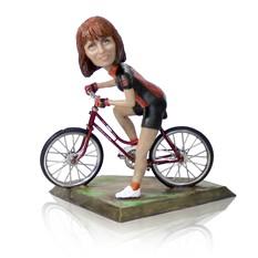 Статуэтка велосипедиста по фото Быстрее ветра