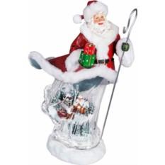 Музыкальная копозиция Дед мороз с посохом Mister Christmas