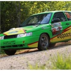 Урок экстремального вождения на Renault Logan (3 круга)