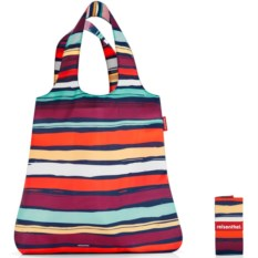 Складная сумка Mini maxi shopper artist stripes