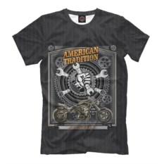 Мужская футболка Harley Аmerican Тradition