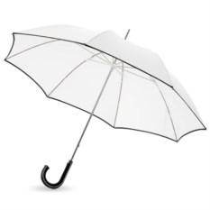 Белый механический зонт-трость Ривер