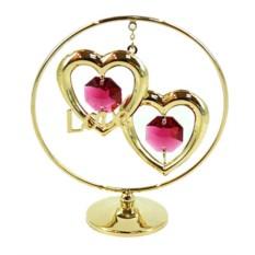 Фигурка декоративная Сердце на подвеске