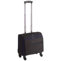 Черный 4-колесный чемодан onBoard