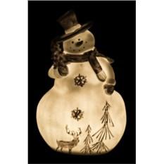 Фигурка с подсветкой Снеговик от Chaozhou Ze