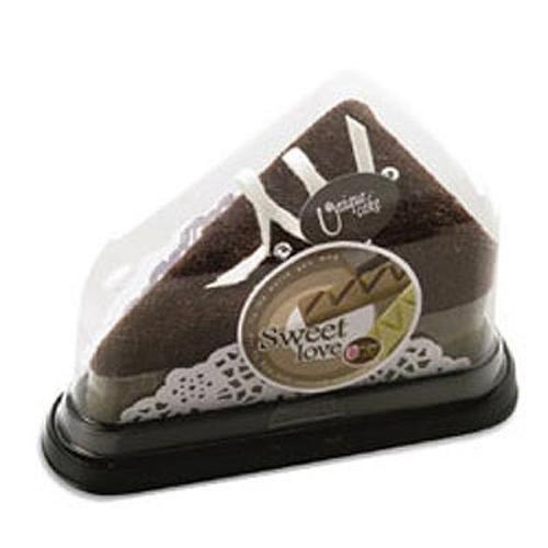 Полотенце-пирожное Треугольное шоколадное