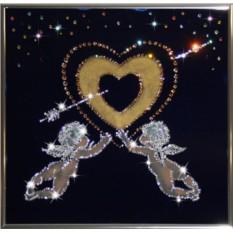 Картина Золотое сердце