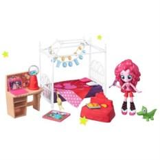 Игровой набор мини-кукол Пижамная вечеринка