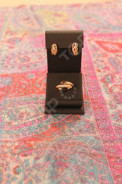 Подарочный комплект: гарнитур Злата и платок Арабика