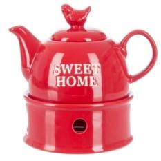 Заварочный чайник с горелкой Дом милый Дом