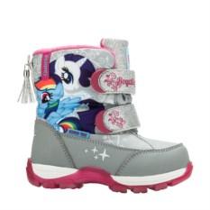Серые сноубутсы для девочек My Little Pony