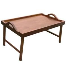 Столик для завтрака в постель с ручками (цвет — орех)