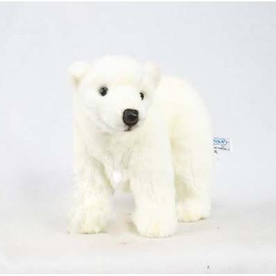 «Медведь белый» 33 см