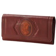 Женский кожаный кошелек «Камея»