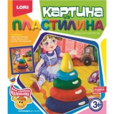 Набор для детского творчества Картина из пластилина