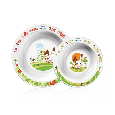 Набор детских тарелок Avent SCF708