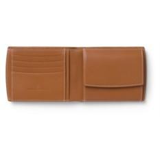 Кожаный бумажник GRAF VON FABER-CASTELL BRAUN