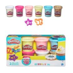Игровой набор из 6 баночек с конфетти Play-Doh от Hasbro