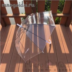 Прозрачный зонт Малый купол