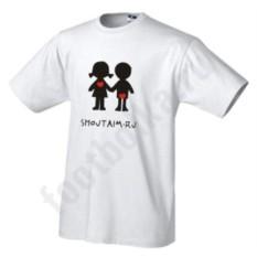 Мужская футболка Boy & girl