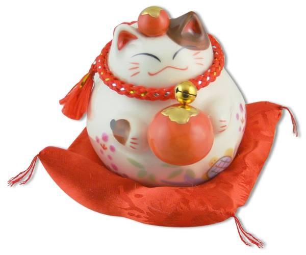 Японский кот-копилка Манеки-неко Везение!