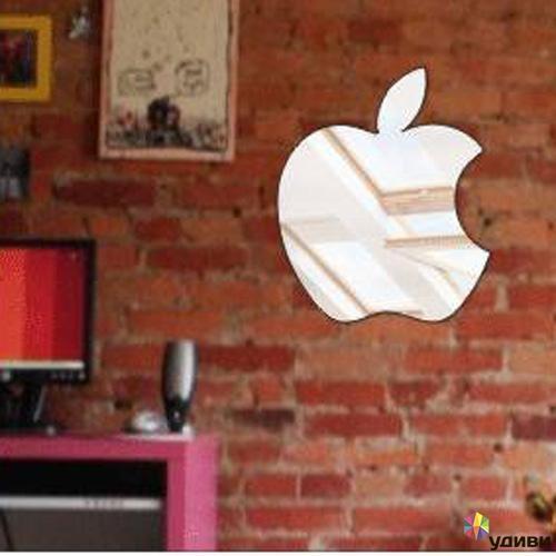 Зеркало-панно яблок Яблоко Apple