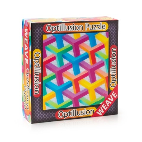 3D пазл-игра Оптические иллюзии: Решетка