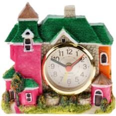 Часы с будильником Домик