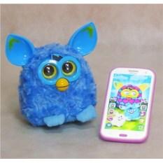 Интерактивная игрушка с телефоном Furby Пикси (голубой)