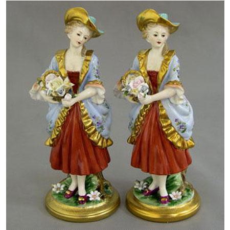 Статуэтка «Две цветочницы»