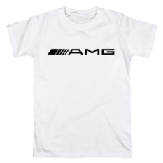 Мужская футболка из хлопка AMG