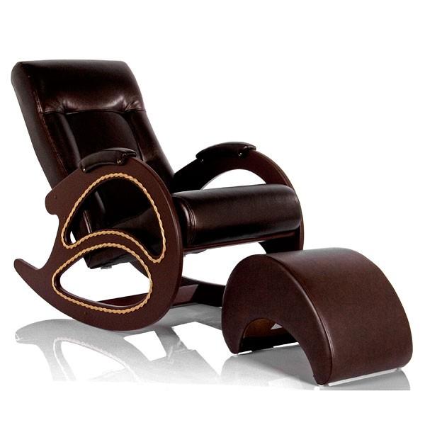 Кресло-качалка с банкеткой