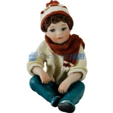 Фарфоровая статуэтка Luca