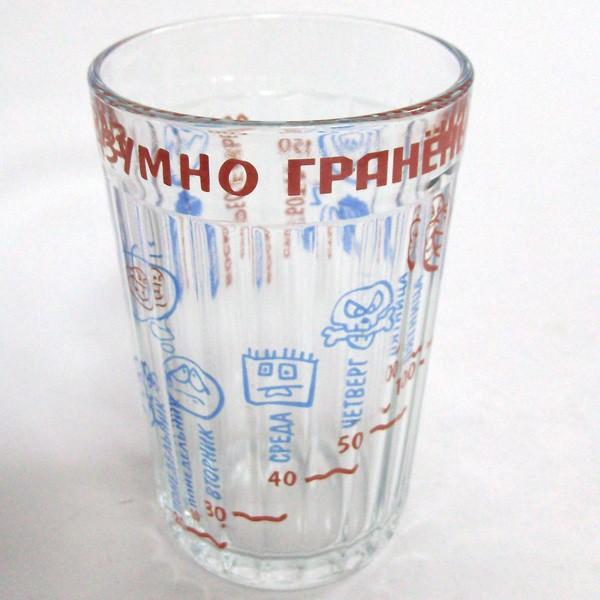 Граненый стакан Разумно граненый