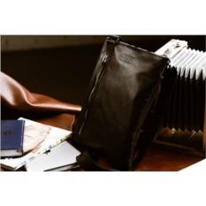 Кожаная сумка через плечо Brialdi Lignano (цвет — черный)