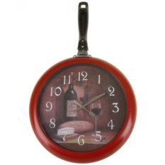 Настенные часы в виде сковороды Pomidoro
