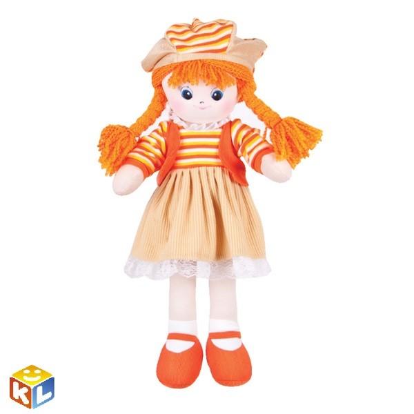 Кукла Апельсинка с двумя косичками, 60см