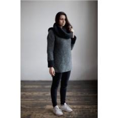 Серый свитер из альпаки