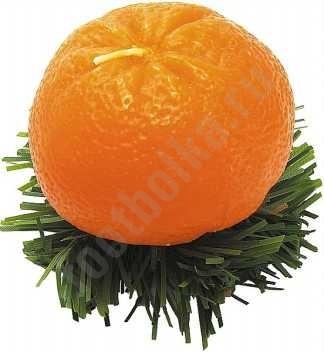 Свеча Новогодний мандарин