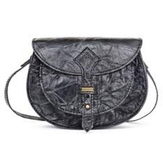 Женская сумочка из кожи и замша